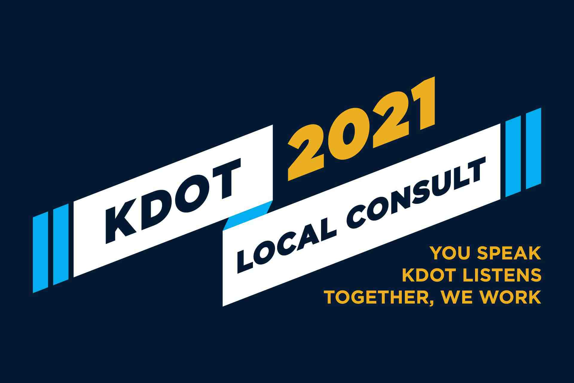 KDOT wants to hear from you at upcoming Local Consult meetings.