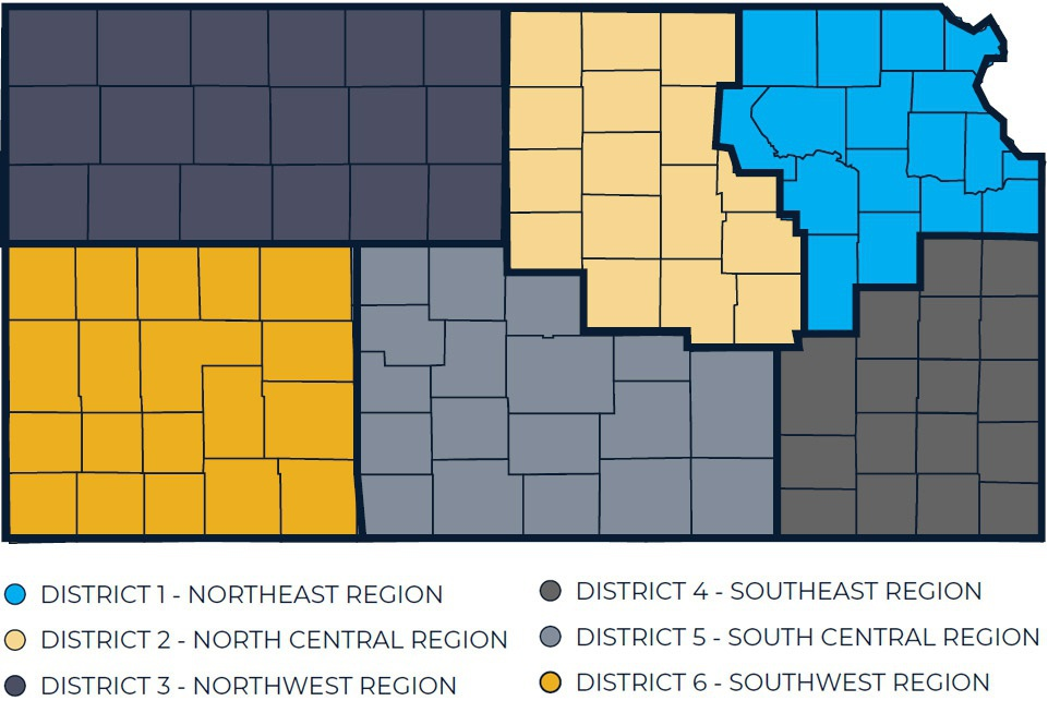 IKE District Map